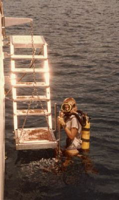 aquawoman_2nd OW dive_closed circuit system_1983